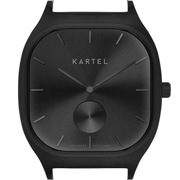 SINCLAIR CASE - BLACK/BLACK Watch Case - Kartel Scotland