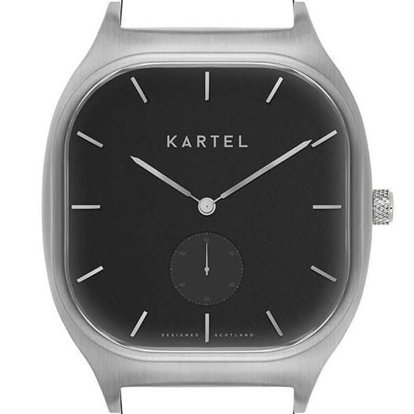 SINCLAIR CASE - SILVER/BLACK Watch Case - Kartel Scotland