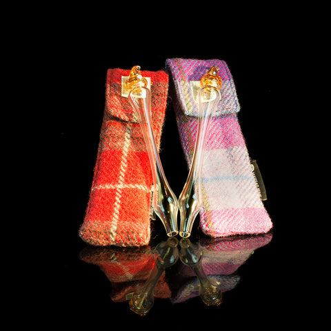 Pocket water dropper with Harris Tweed Case