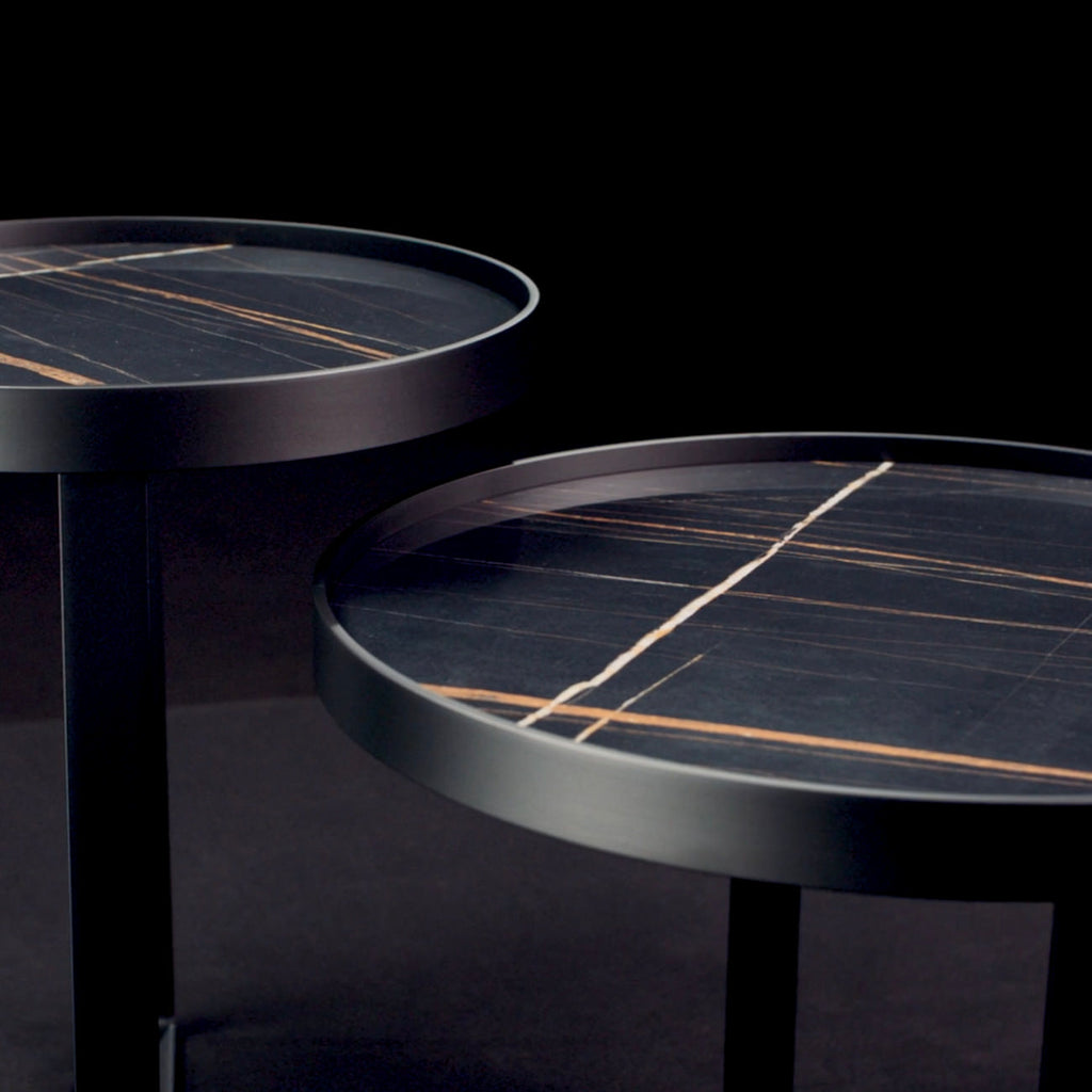 Coffee and Side Tables by Christine Kröncke Interior Design London
