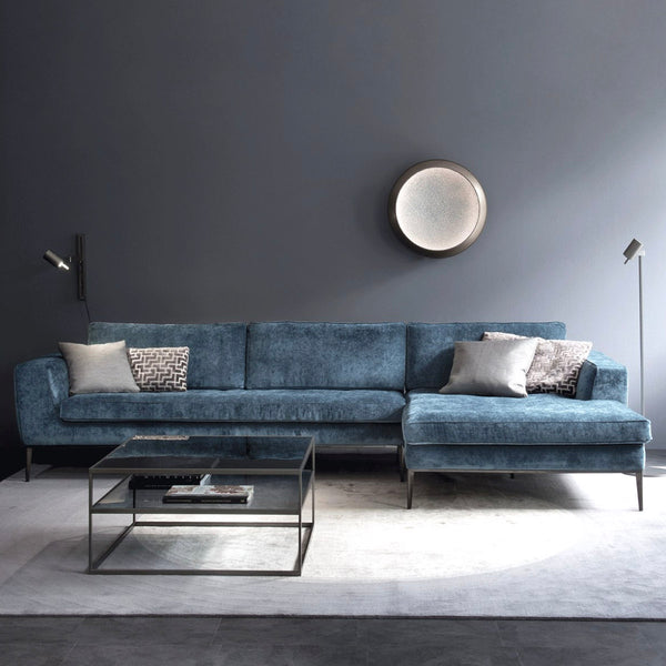 LORD Sofa with Chaise Corner by Christine Kröncke Interior Design