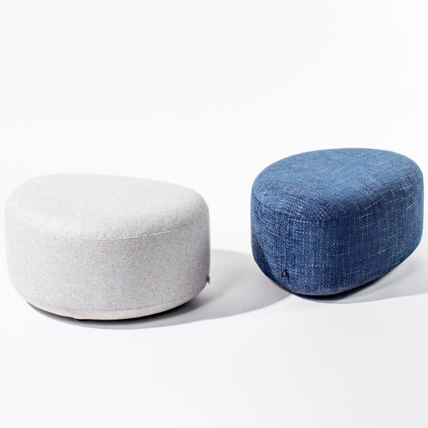 Organically shaped pouffe