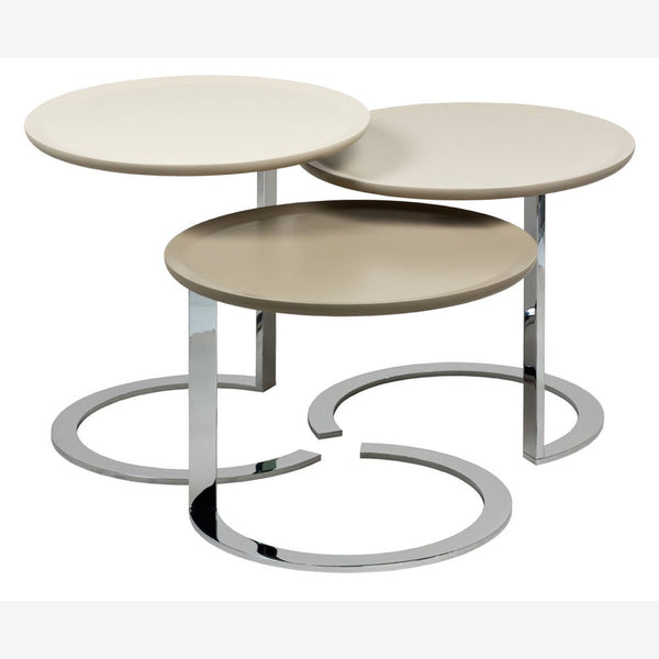 designer nest of tables