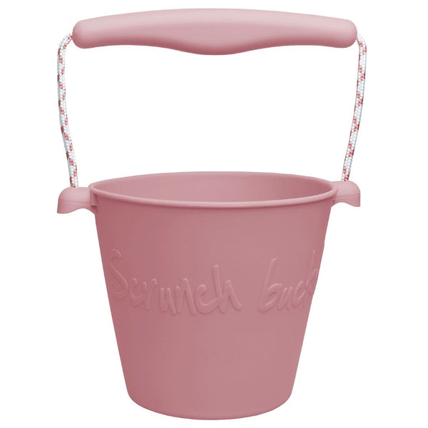 Otroška silikonska kanglica Bucket Scrunch - Dusty Rose