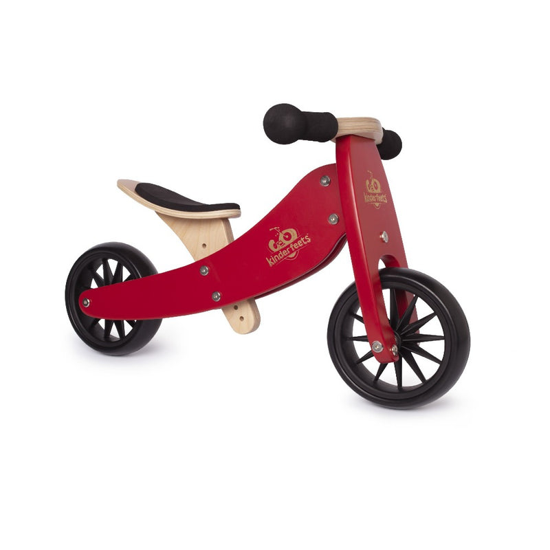 Lesen poganjalec Kinderfeets Tiny Tot 2v1 - Cherry Red