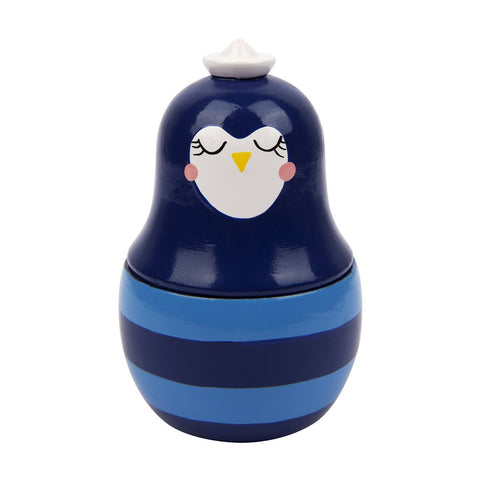 Lesena glasbena igrača Sunnylife Kids Musical Buddy - Penguin