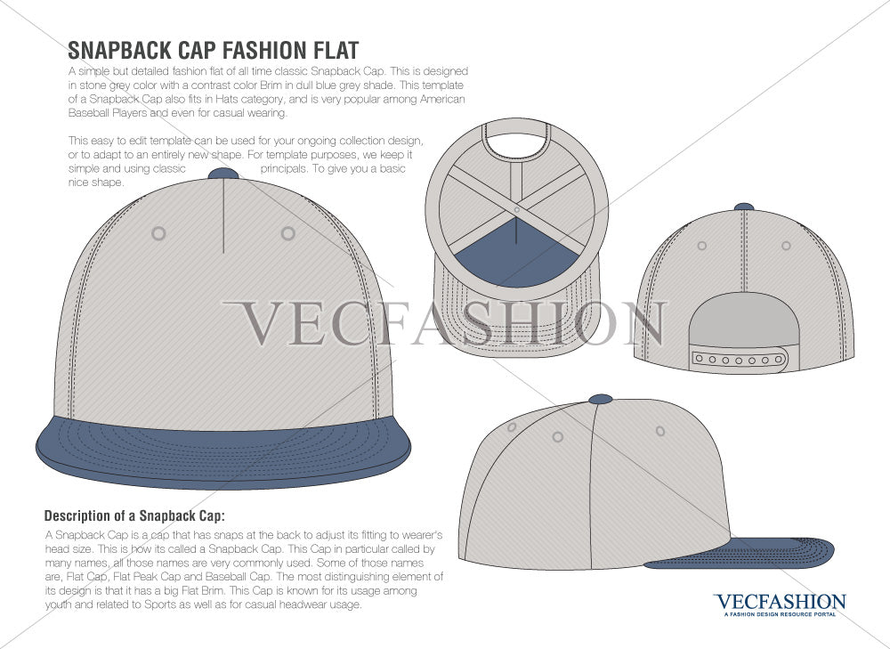 snap back vector templates