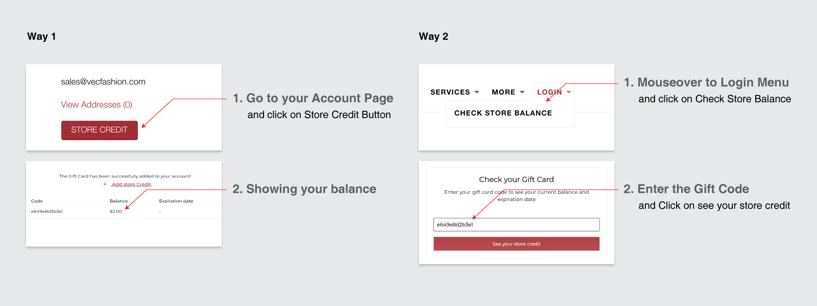 how to check your account balance