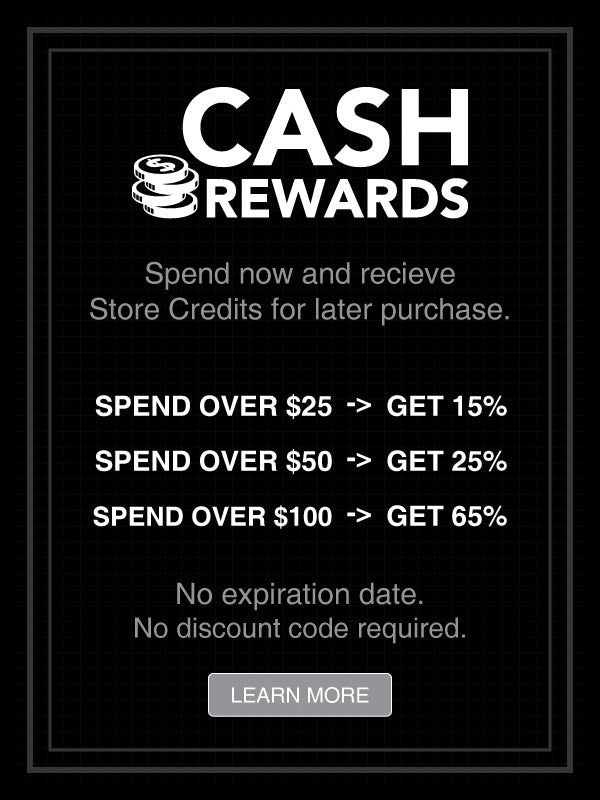 cash rewards store credits