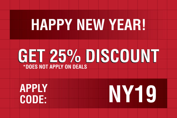 new year discount coupon 2019