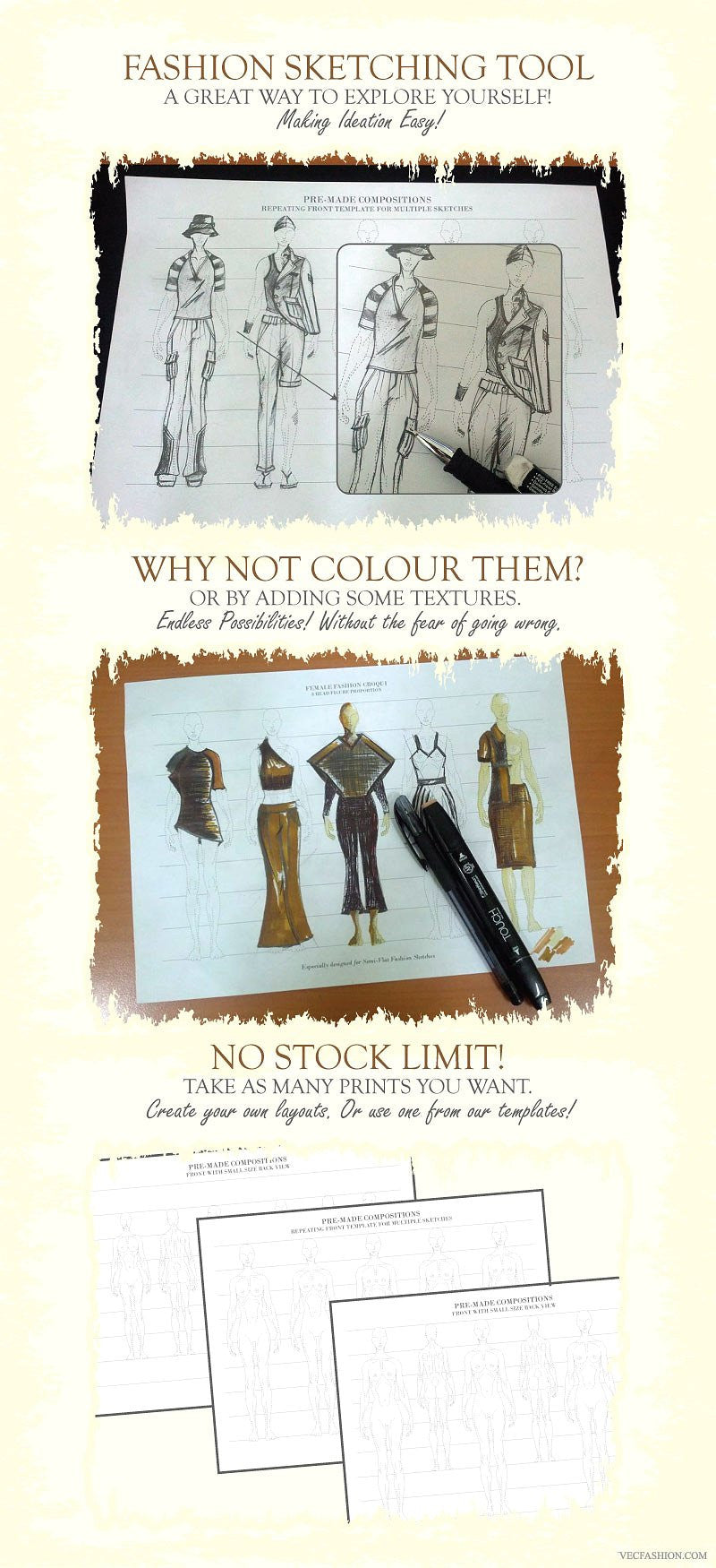 fashion-croquis-templates
