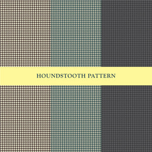 Houndstooth Repeat Pattern in 3 Colors