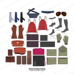 Bags, Accessories & Headwear Bundle