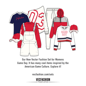 Womens Game Day Fashion Set