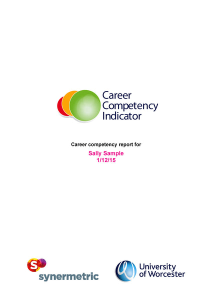Career Competency Indicator (CCI)