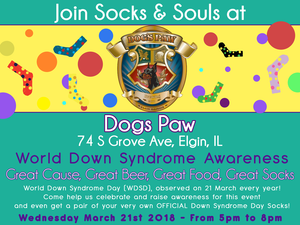 World Down Syndrome Awareness Day at Dog's Paw Brewing