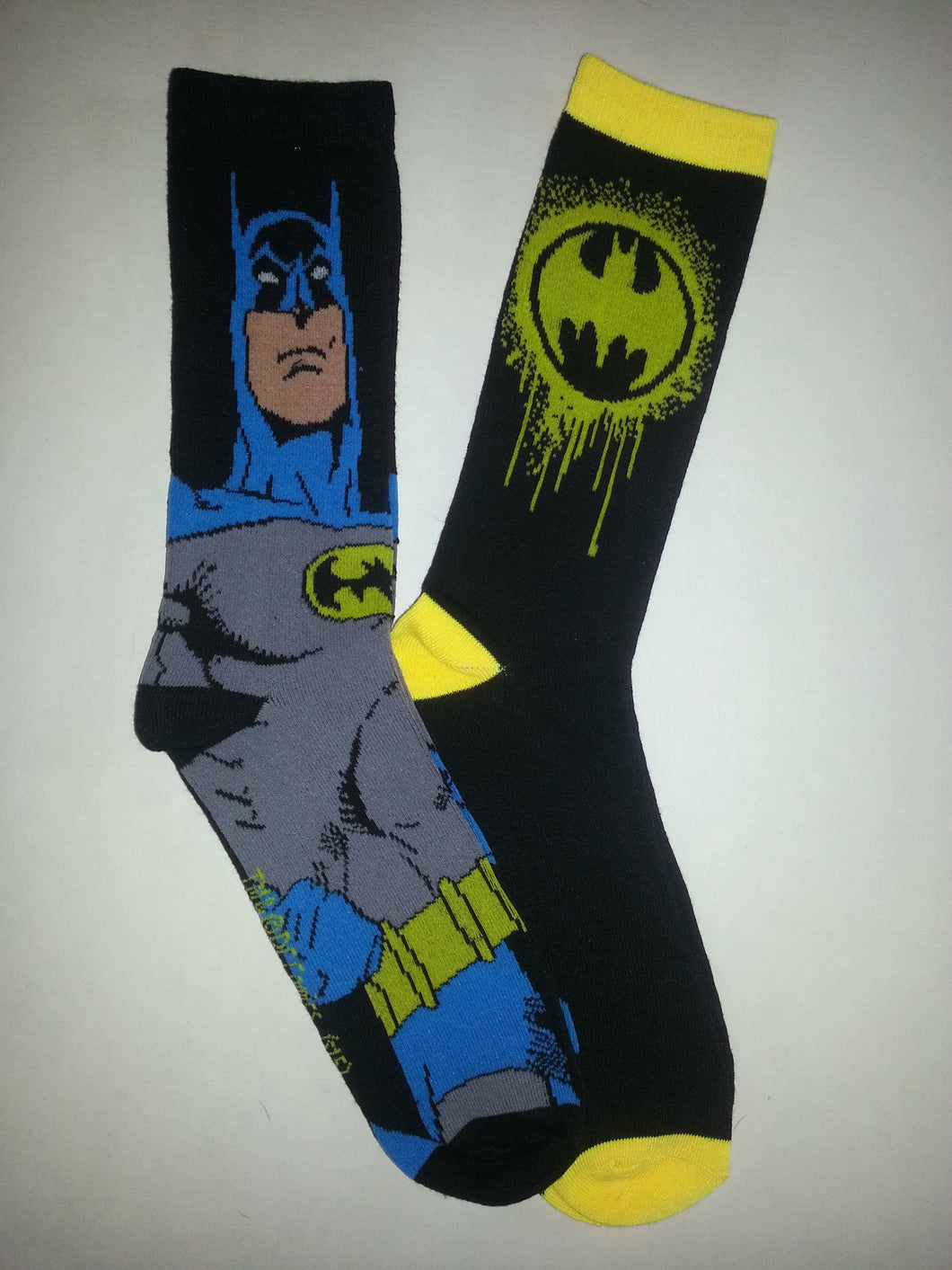 Batman 2 Pairs of Random Crew Socks