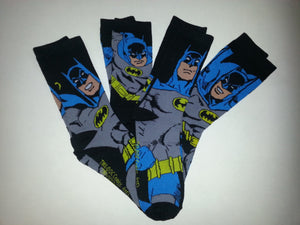 Batman 1 Pair of Random Crew Socks