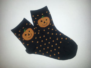 Pumpkin Crew Socks