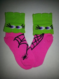 Eyes w/ Spider Crew Socks