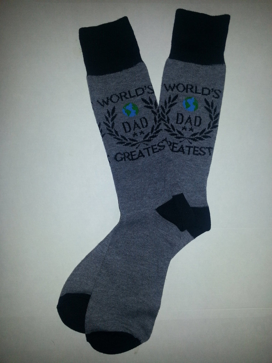 World's Greatest Dad Crew Socks