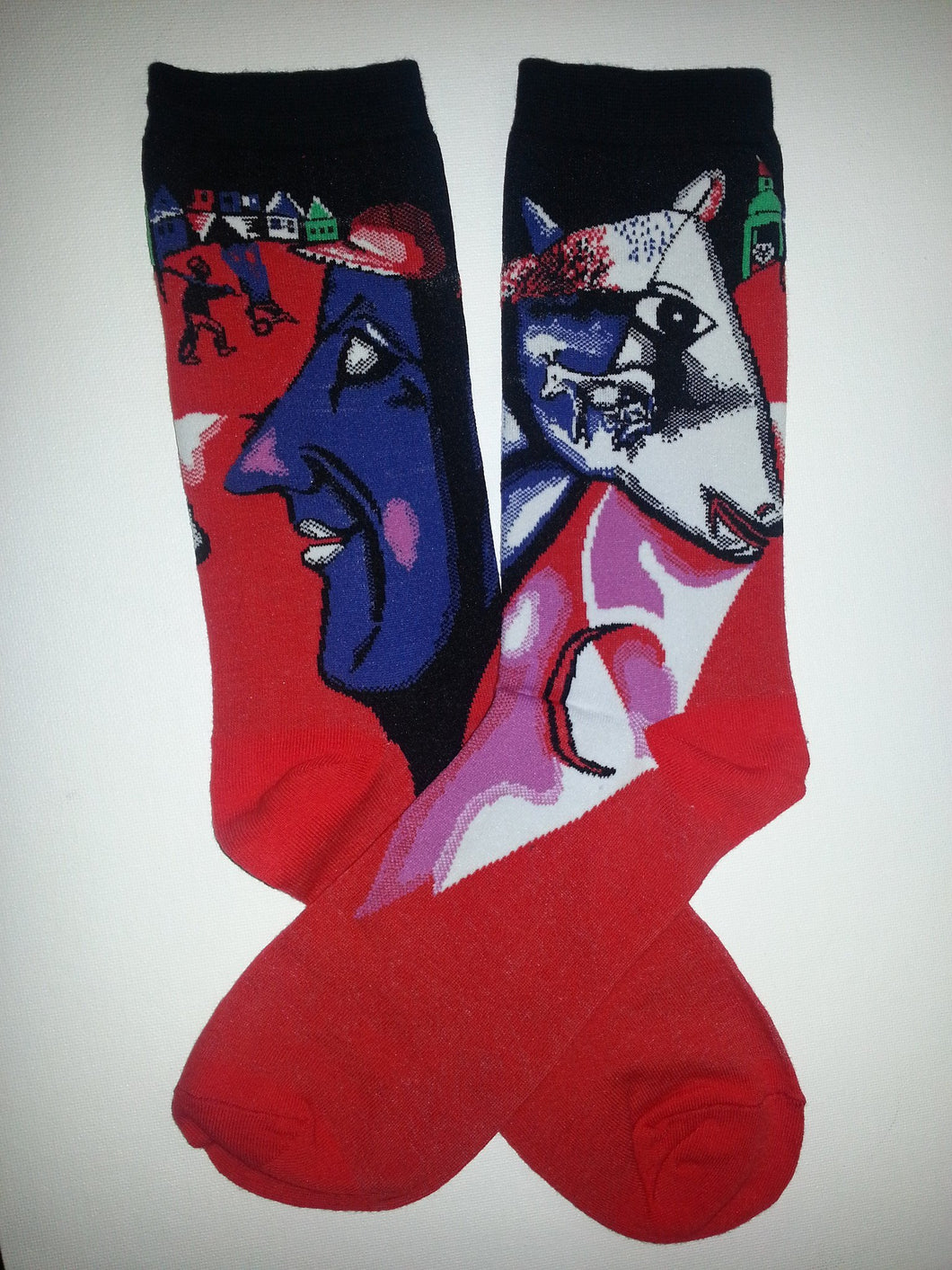 I And The Village by Marc Chagall Crew Socks