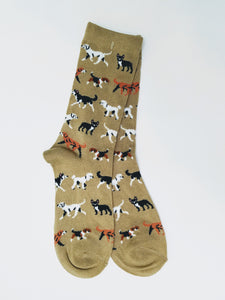 Walking Dog Crew Socks