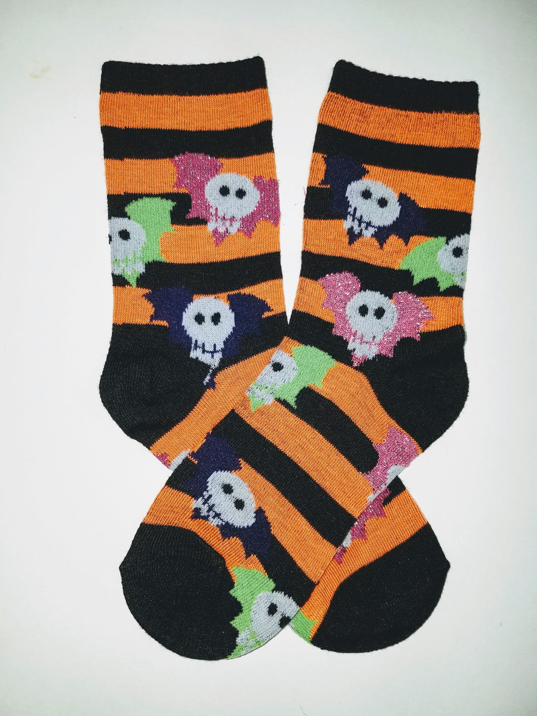 Flying Skulls Crew Socks