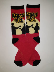 Kenan and Kel Crew Socks