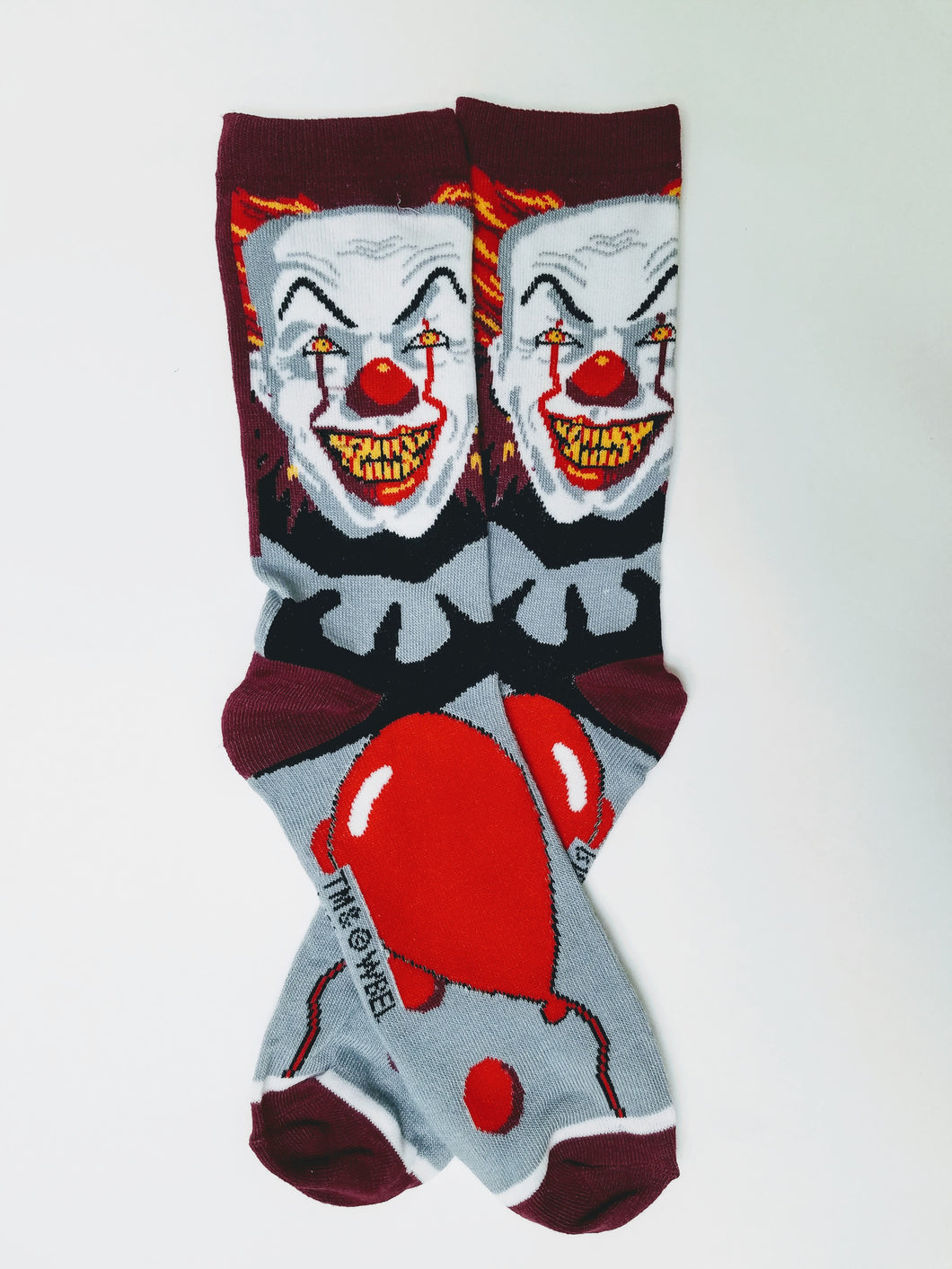 IT Clown Crew Socks