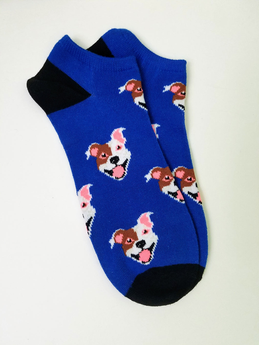 Dog Head Ankle Socks