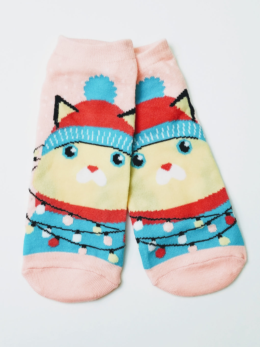 Cat Winter Ankle Socks