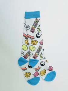 Awesome Icons Knee High Socks
