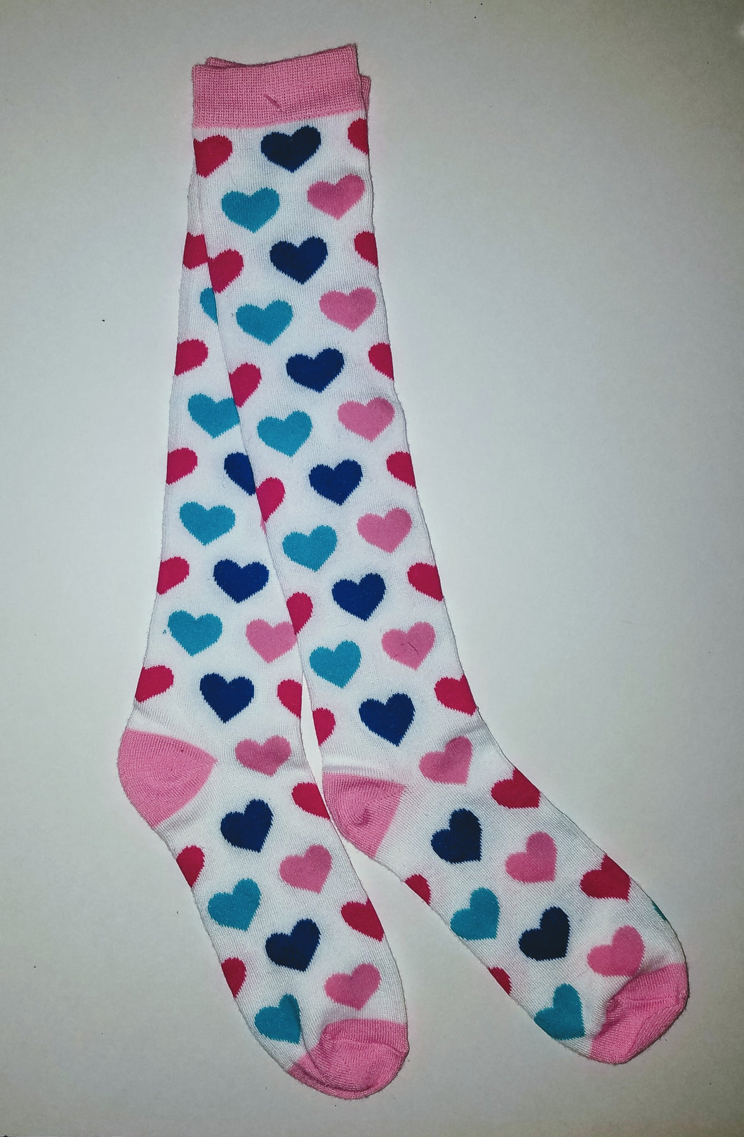 Heart Knee High Socks
