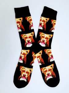 Dogs Head Crew Socks