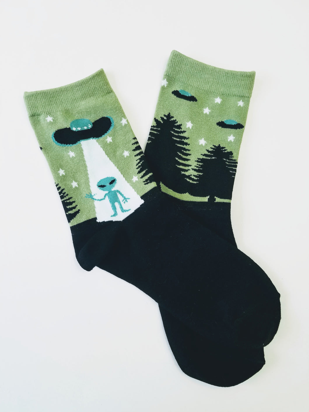 Alien Spacecraft Crew Socks