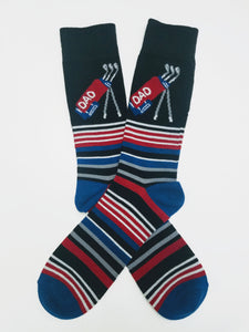 Golf Dad Crew Socks