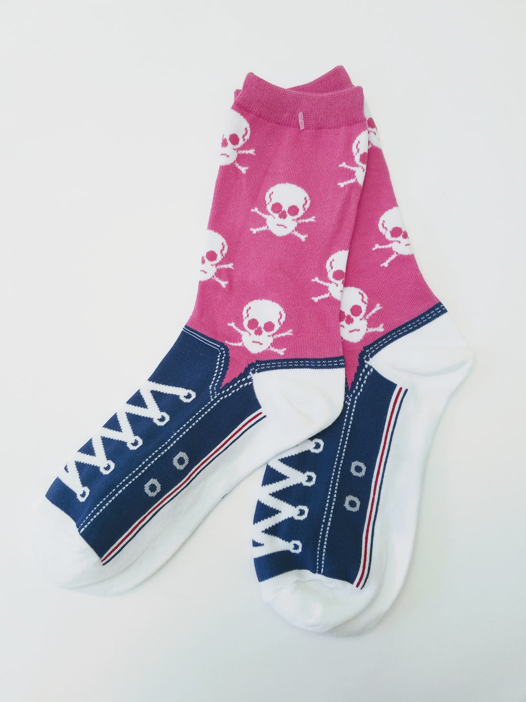 Skull & Sneakers Crew Socks