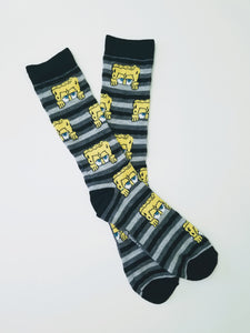 SpongeBob SquarePants Striped Crew Socks
