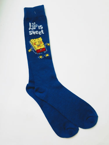 SpongeBob SquarePants Life is Sweet Crew Socks