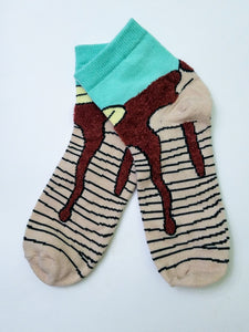 Pancake Low Crew Socks