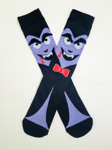 Vampire Face Crew Socks