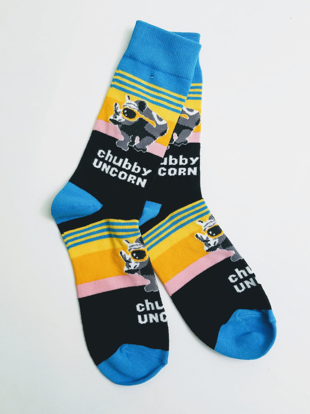 Chubby Unicorn Crew Socks