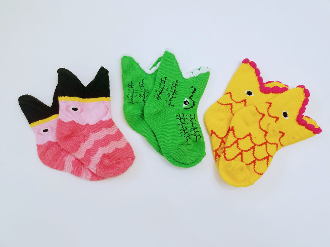 Animal Baby Crew Socks