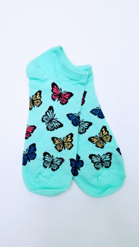 Butterfly Ankle Socks