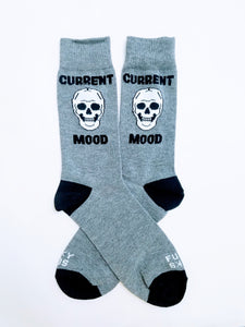 Current Mood Skull Crew Socks