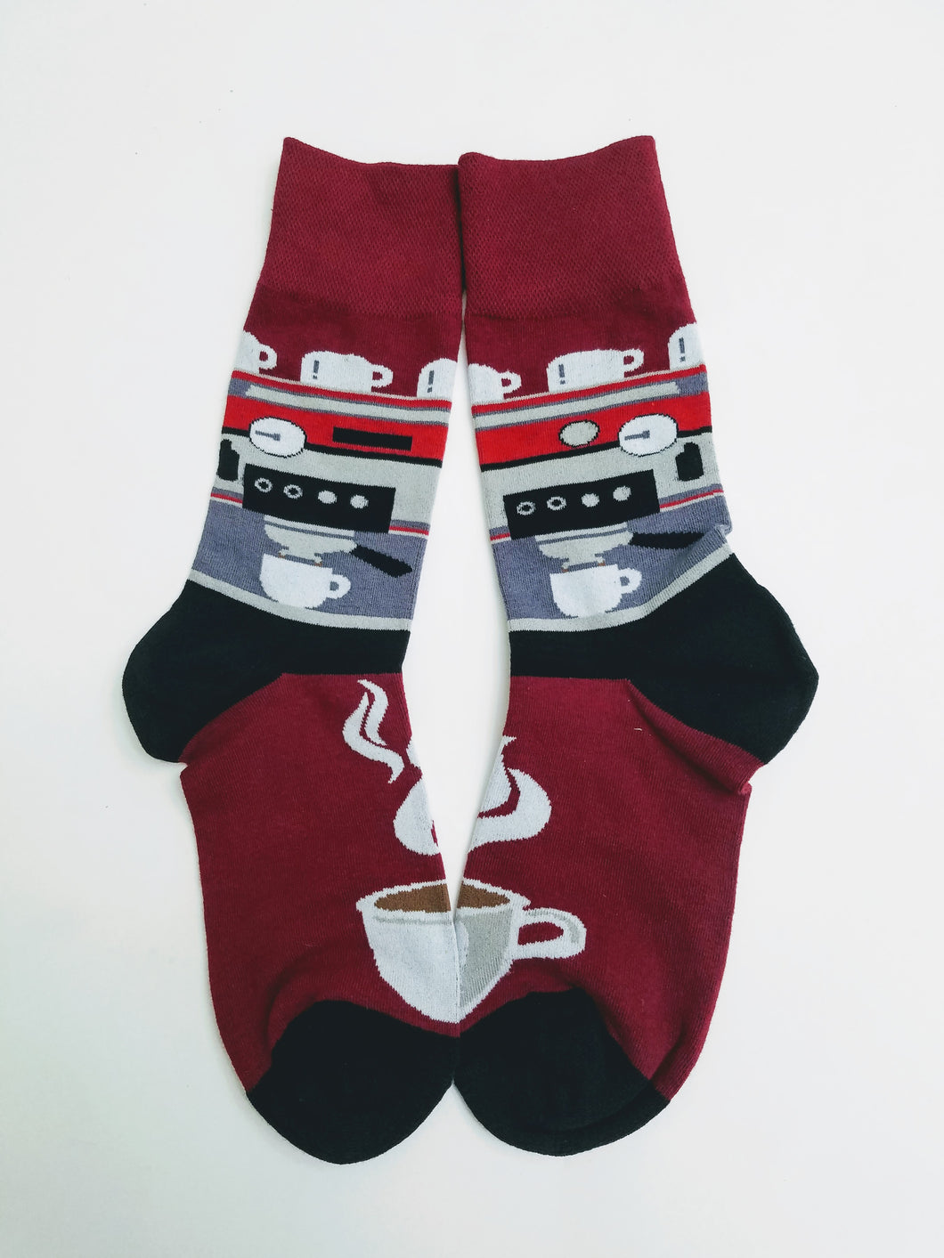 Coffee Maker Crew Socks