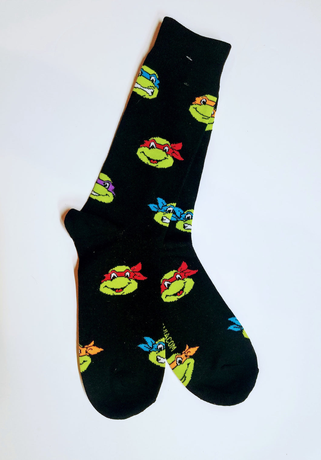 Teenage Mutant Ninja Turtles Heads Crew Socks