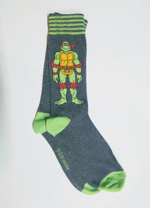 Raphael Teenage Mutant Ninja Turtle Crew Socks