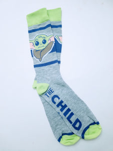 Baby Yoda The Child Star Wars Crew Socks